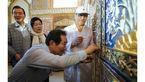 ذوقزدگی رئیس مجلس کره جنوبی در بازدید از اصفهان+عکس