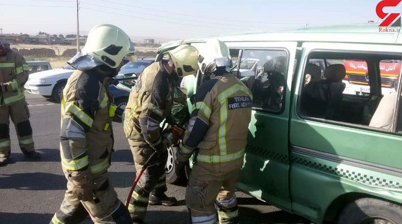 ۹ قربانی براثر حادثه خونین در قم + تصاویر