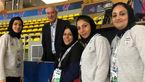 حضور کفاشیان در جمع بازیکنان تیم ملی فوتسال زنان ایران +عکس