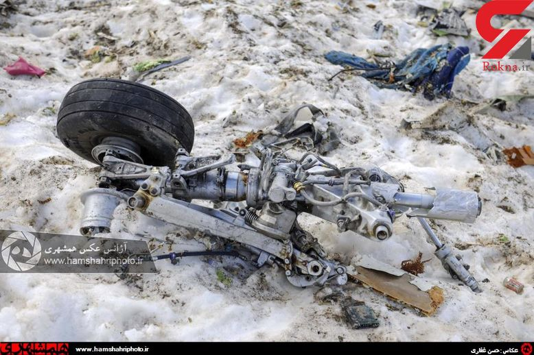 عکس / کشف بقایای تازه هواپیمای پرواز تهران _ یاسوج