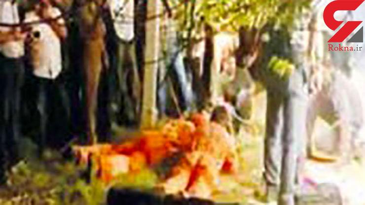 دختر 5 ساله در چاه 34 متری باغ سقوط کرد / عملیات نجات در روستای «آگاریالا» + عکس