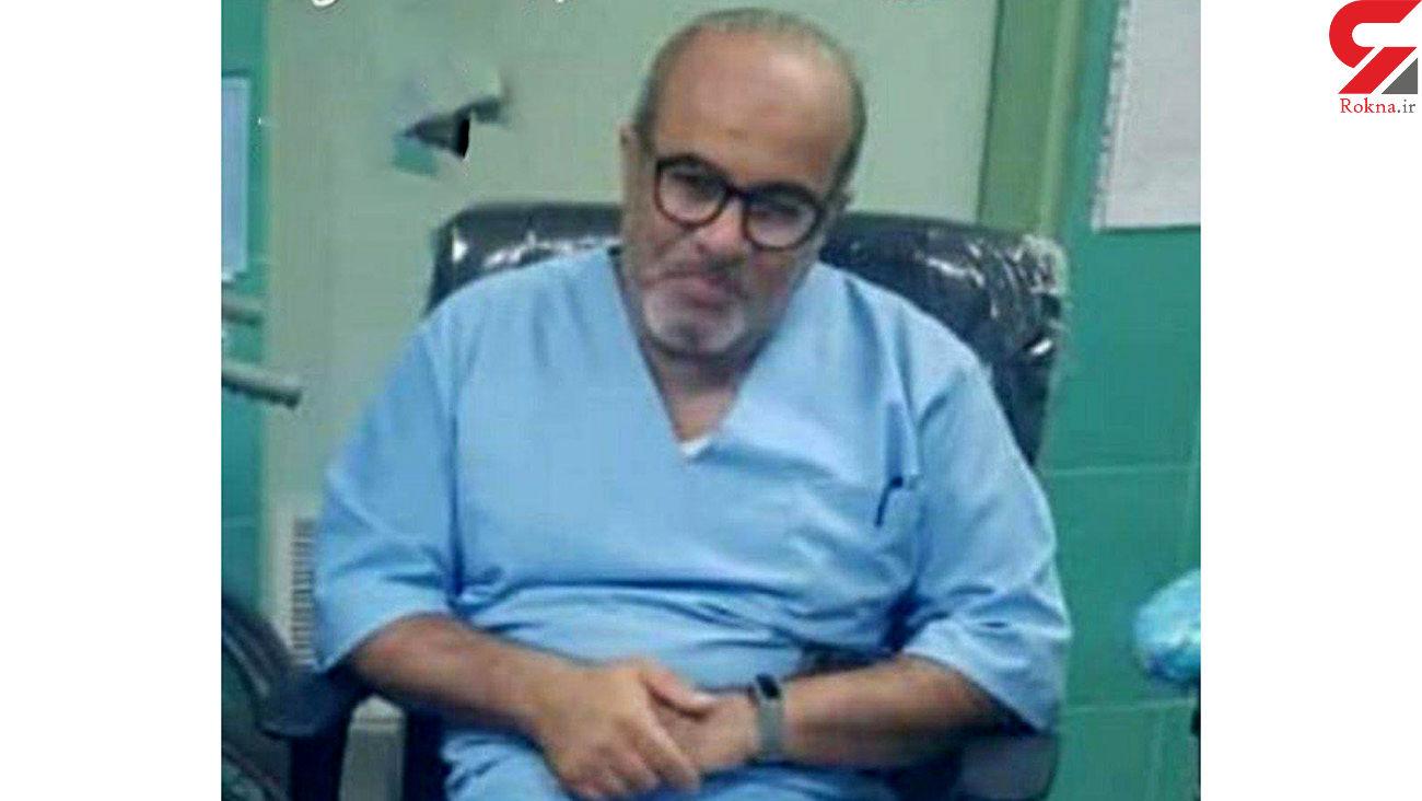 دکتر امیر هوشنگ فلاح بر اثر ابتلا به کرونا در محمودآباد فوت کرد + عکس