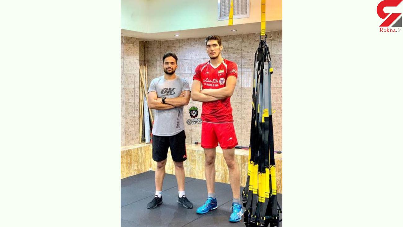 بلندترین والیبالیست ایران کیست؟ + عکس