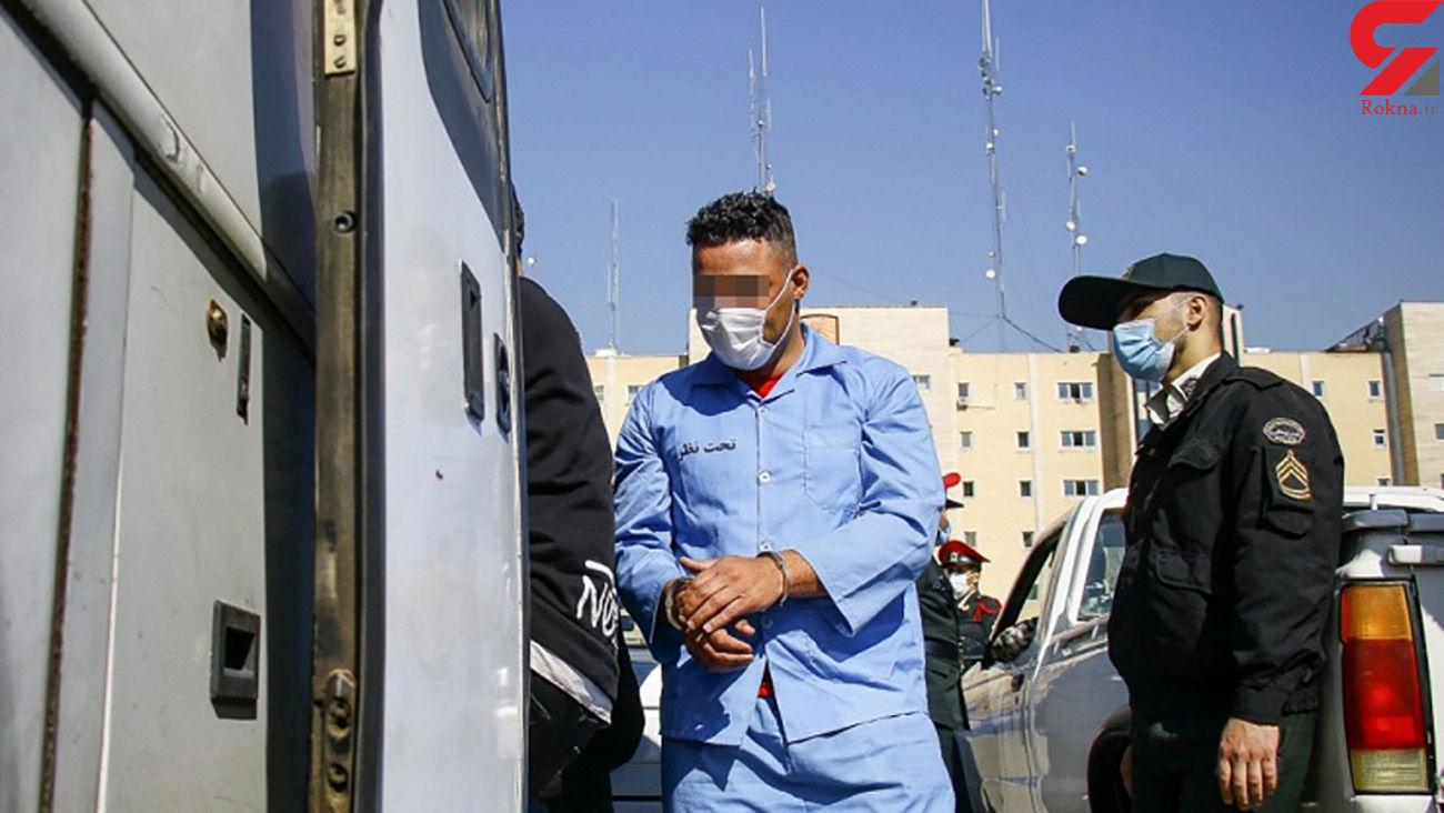 شرور عربده کش تهرانی غیرتی شد / او به خاطر تنها خواهرش شمشیر کشید + عکس