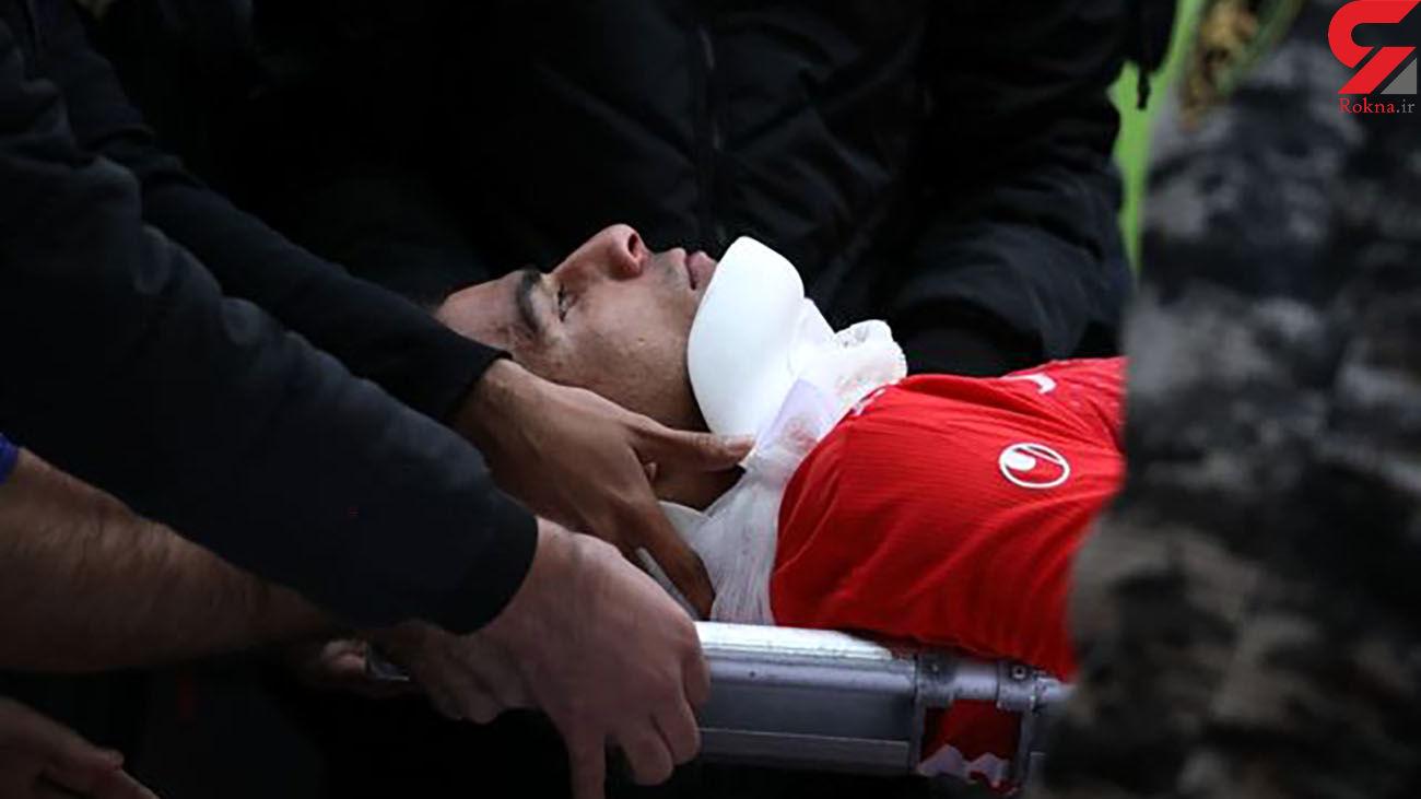 فوتبالیست لیگ برتری از مرگ گریخت / علی نعمتی کیست ؟