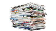 عناوین روزنامه های سه شنبه ۶ خرداد