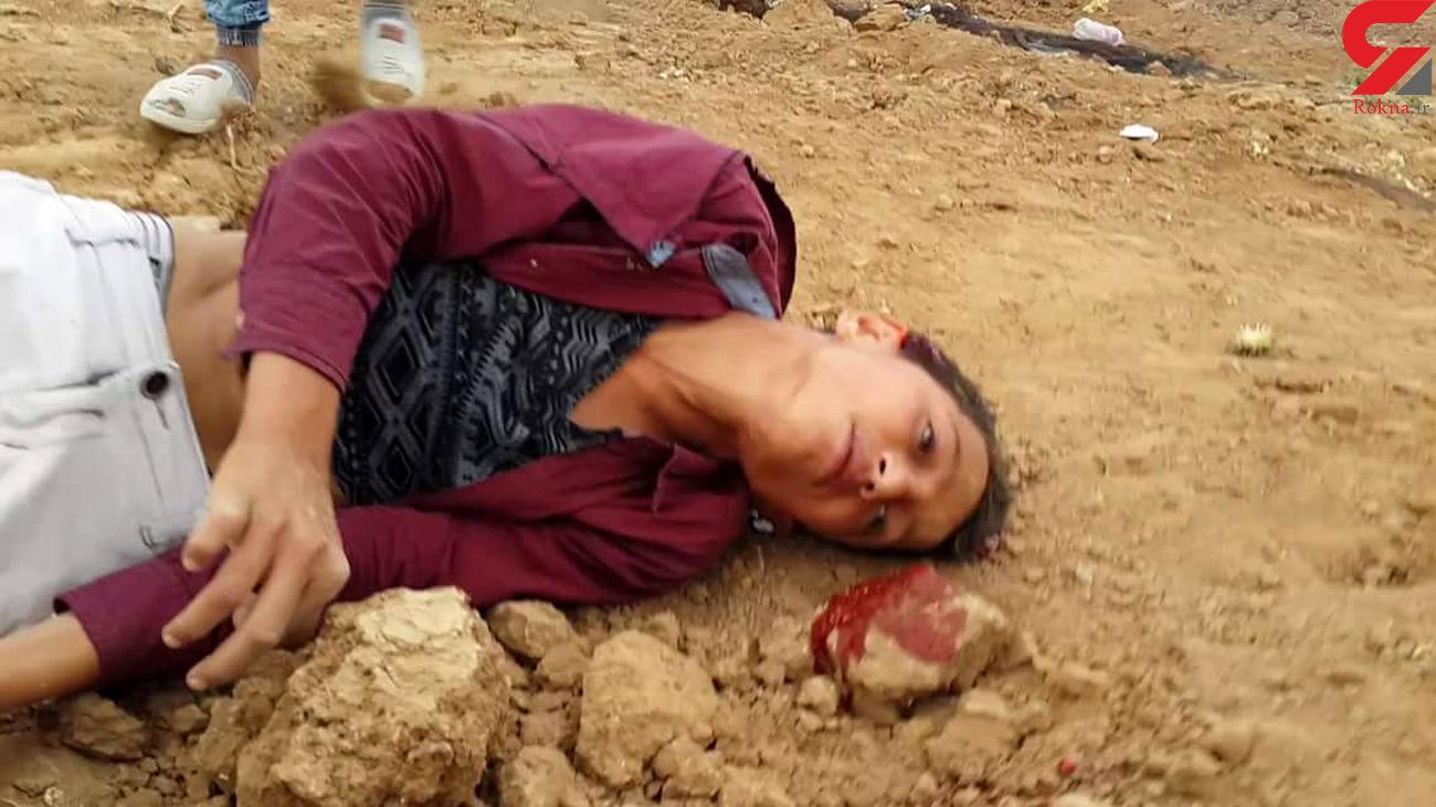 سر این نوجوان 15 ساله مورد هدف گلوله قرار گرفت + فیلم