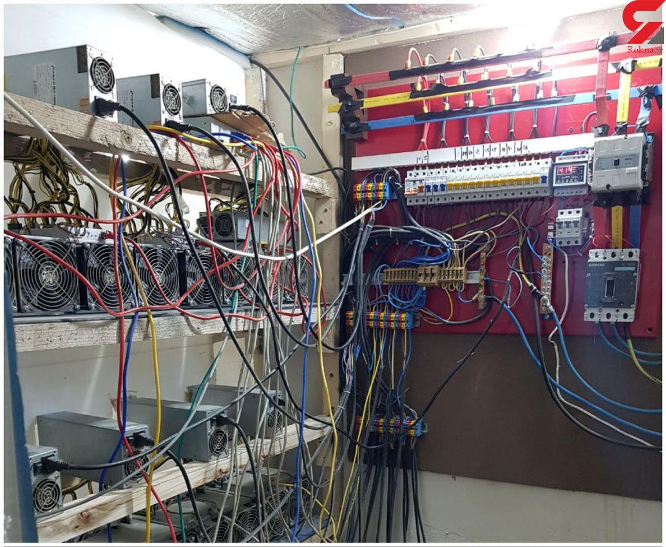 شناسایی و جمع آوری 1170 دستگاه غیر مجاز استخراج رمز ارز