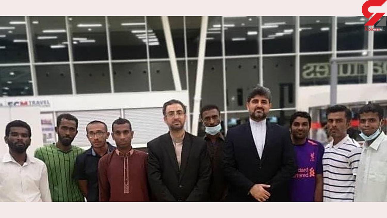 سرنوشت عجیب 8 ملوان ایرانی در تانزانیا / پایان 4 سال اسارت + عکس
