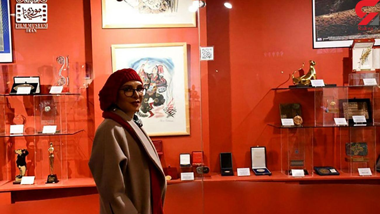افسانه بایگان تولدش را در موزه سینما گذراند