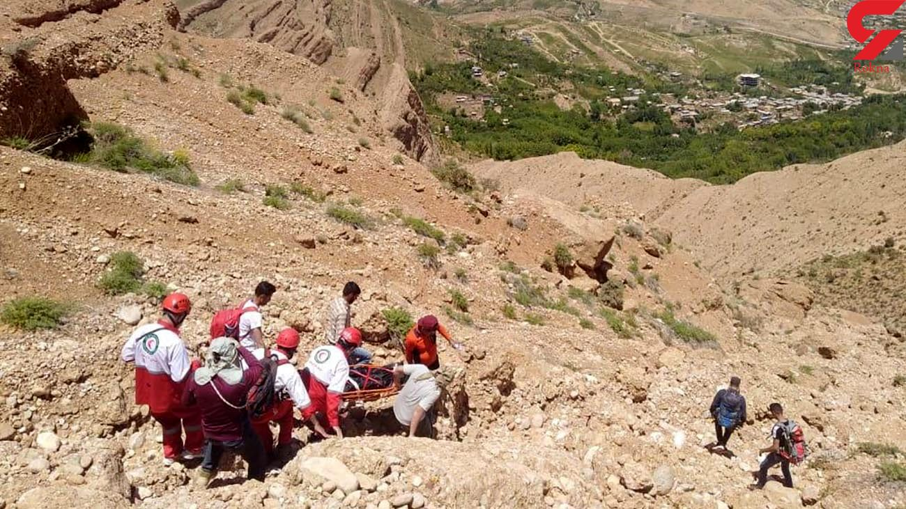 عکس جسد مرد شیرازی در آبشار قلات + جزییات
