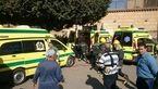 15 کشته و 42 زخمی بر اثر انفجار بمب داخل کلیسایی در طنطای مصر+تصاویر