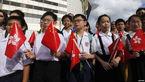 لباس فرم هوشمند برای دانشآموزان چینی