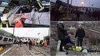 خروج قطار از ریل در میلان/2 تن کشته وبیش از 50 نفر مصدوم شدند+تصاویر