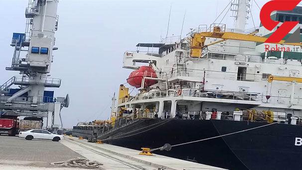 سومین کشتی محموله گندم داخلی در بندر چابهار تخلیه شد