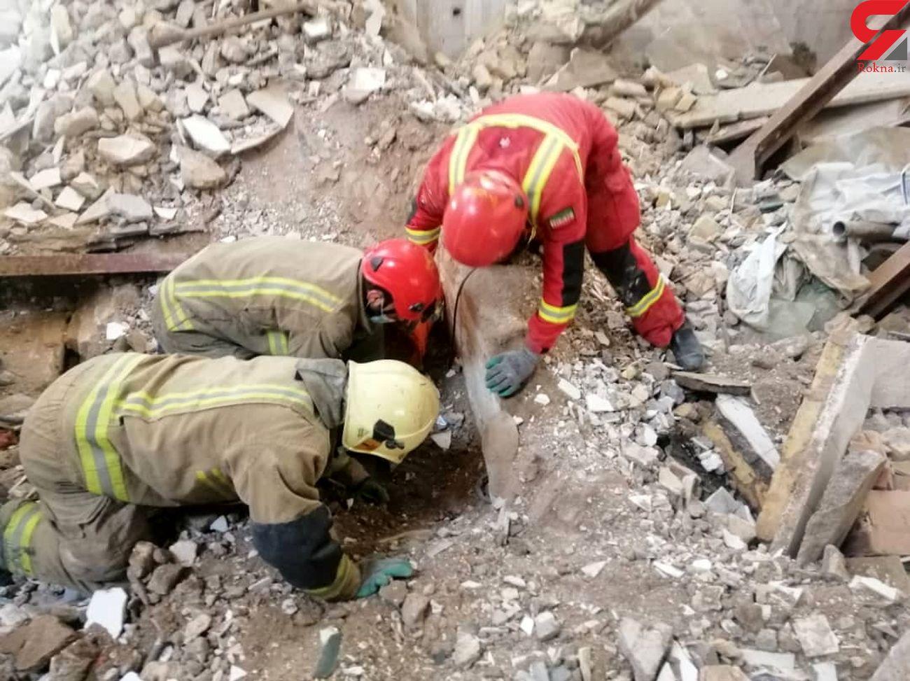 سقوط و مرگ کارگر ساختمانی حین تخریب ساختمان در نیشابور