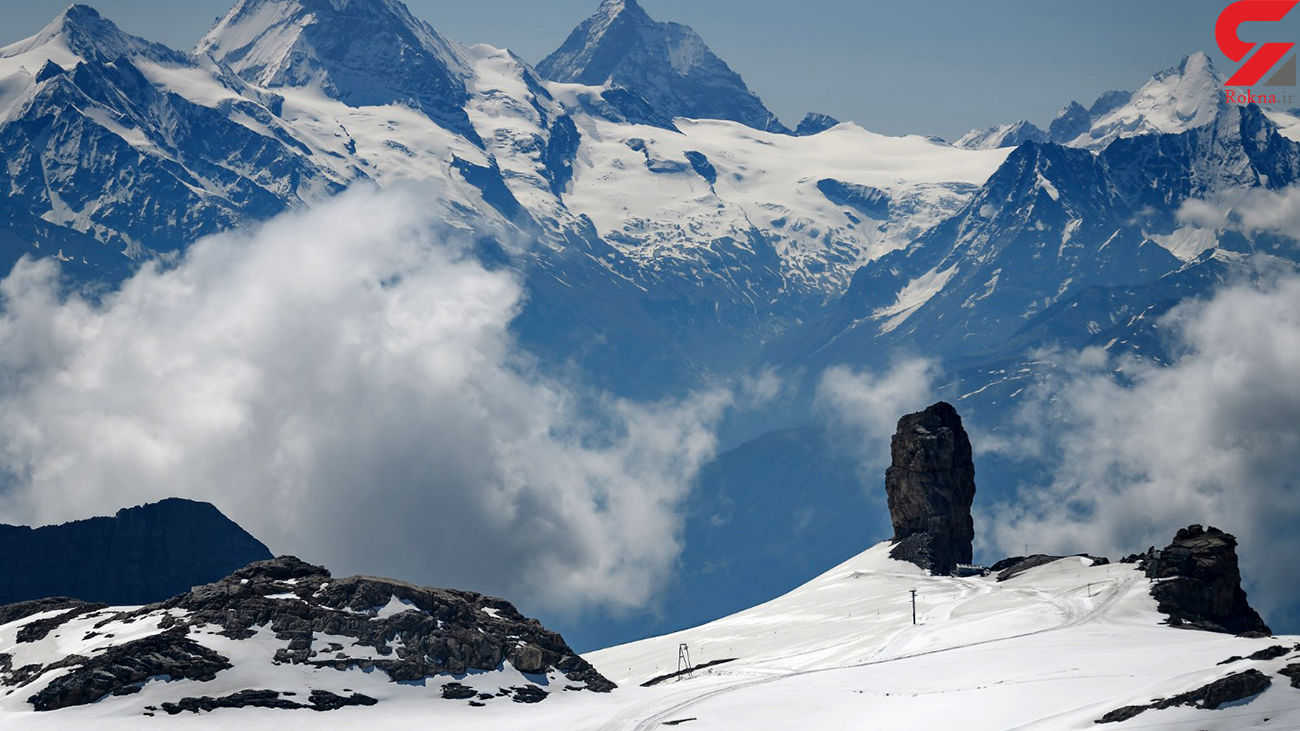 سقوط هواپیما با 4 کشته در کوه های سوئیس + عکس