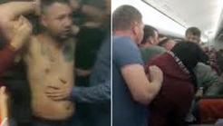 تهدید منفجر کردن هواپیما توسط مسافر شرور! + فیلم و عکس