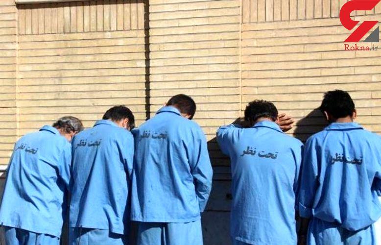 دستگیری 5 قاچاقچی تریاک در لرستان