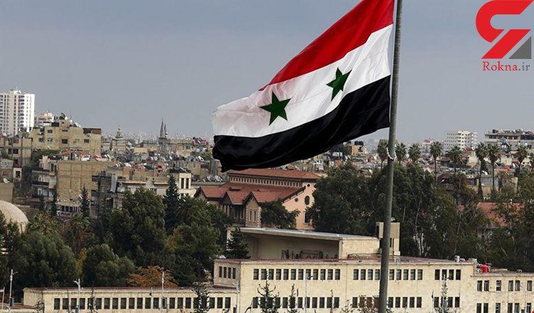 مقابله پدافند هوایی سوریه با یک پهپاد متجاوز در اطراف پایگاه حمیمیم در لاذقیه