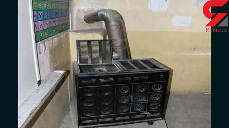 جمع آوری بخاریهای نفتی مدارس خراسان شمالی