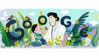 تغییر لوگوی گوگل به افتخار زادروز پزشک فیلیپینی