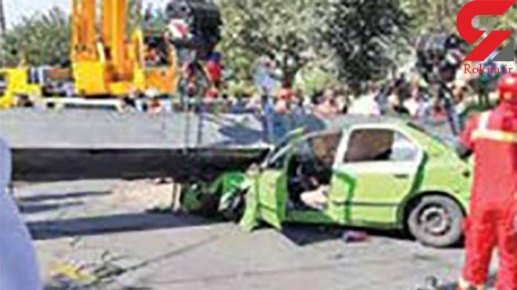 معرفی مقصران سقوط مرگبار جرثقیل در پارک بسیج