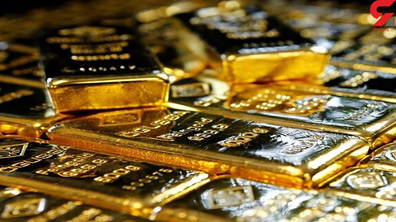 قیمت جهانی طلا امروز جمعه 21 خرداد