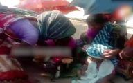 ازدواج عجیب کودک یک ساله با سگ / ترسیدن ارواح شیطانی !+ فیلم / هند