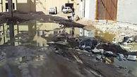 آب گرفتگی و ویرانی معابر مسکن مهر آبادان + فیلم