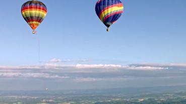 تاب بازی در ارتفاع 1800 متری از زمین + فیلم
