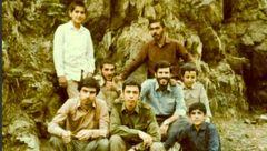 عکس دیده نشده از جوانی سردار باقری در کنار شهید خرم دل