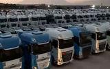 ماجرای دپو 6 هزار کامیون در گمرکات کشور / دو سال است نان کامیون داران آجر شده است !