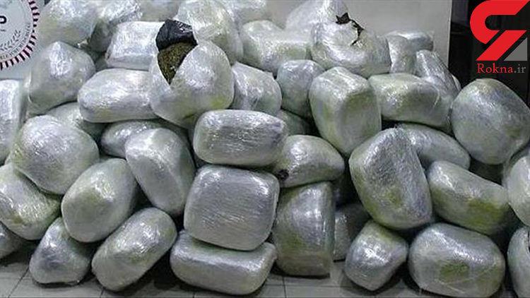 در بازرسی از منزل مسکونی، ۳۵۰ کیلو تریاک کشف شد