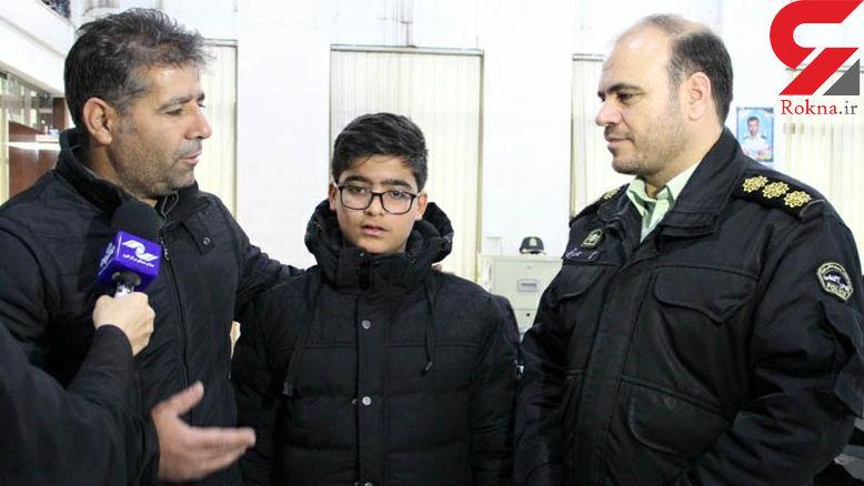 عکس / این پسر 13 ساله اسیر 3 مرد بی صفت کرجی شد + جزئیات