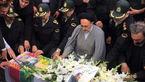 مراسم تشییع پیکر دو پلیس پایتخت که در ایام نوروز به شهادت رسیدند + فیلم و عکس