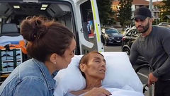 آخرین آرزوی بیمار سرطانی در ساحل دریا برآورده شد + تصاویر