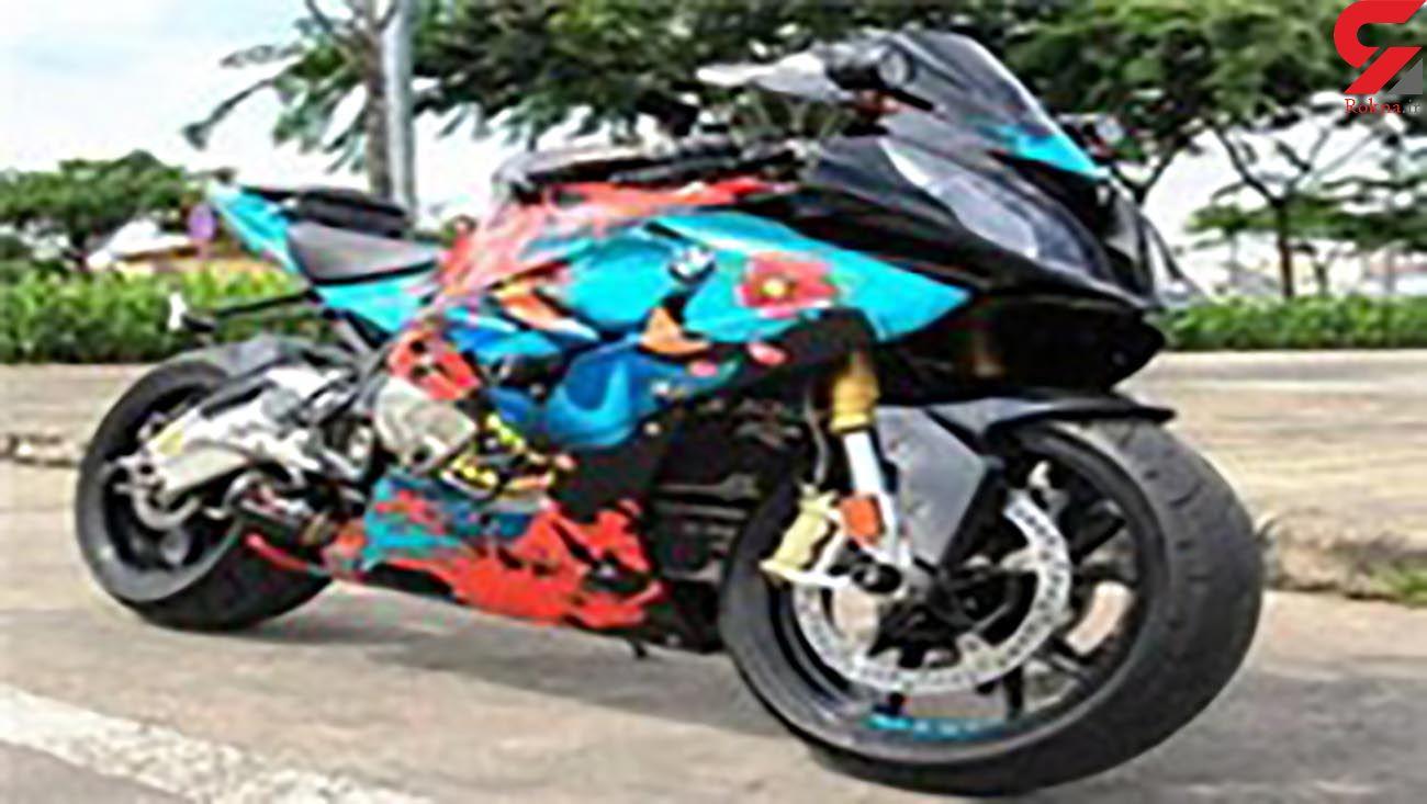 کشف موتورسیکلت میلیاردی در کرج