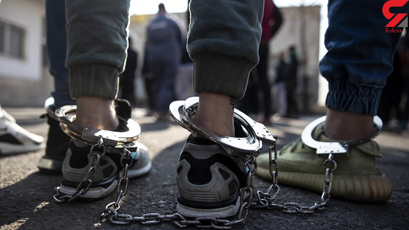 تعقیب و گریز 20 دقیقهای پلیس برای دستگیری دزدان در اتوبان کرج