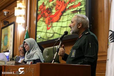 سرتیپ دوم پاسدار محمدرضا یزدی / فرمانده سپاه محمد رسول الله (ص) تهران