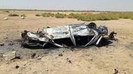 ٤کشته و زخمی در واژگونی منجر به آتش سوزی پژو ۴۰۵ در محور بندر ماهشهر - هندیجان