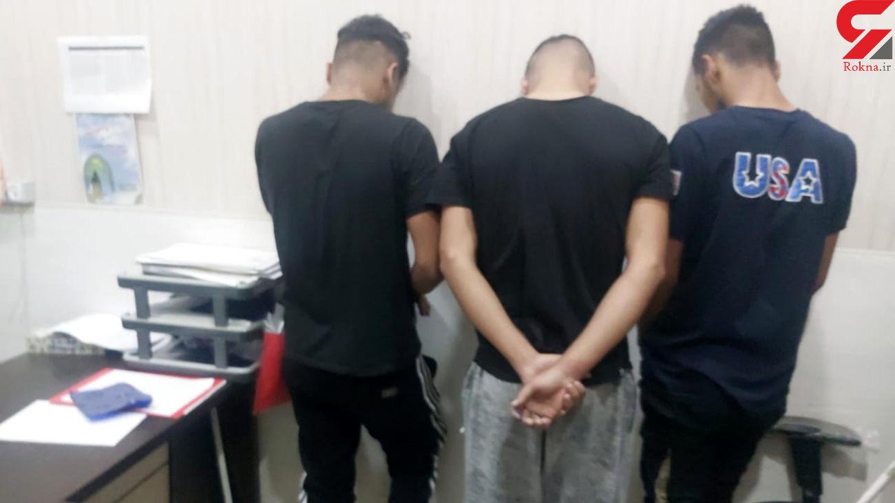 3 موبایل قاپ حرفه ای شکار دوربین های مداربسته شدند / در آبادان رخ داد + عکس