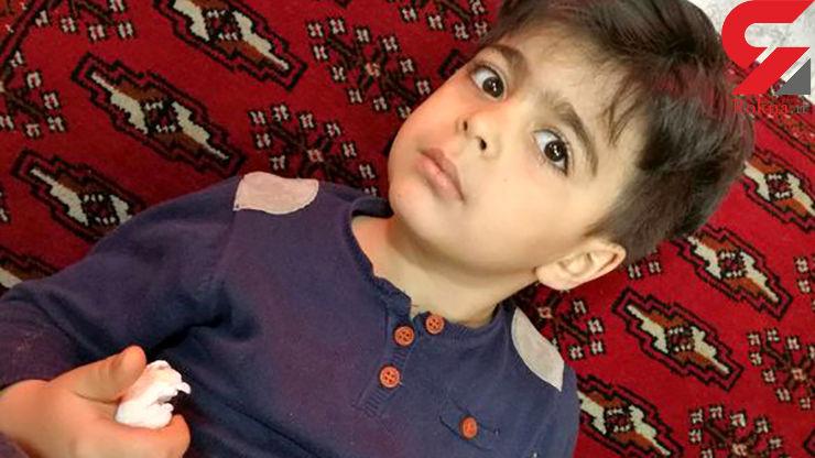 گلوله تبهکاران به سر کودک 5 ساله تهرانی برخورد کرد / معجزه آریا زنده ماند+ عکس