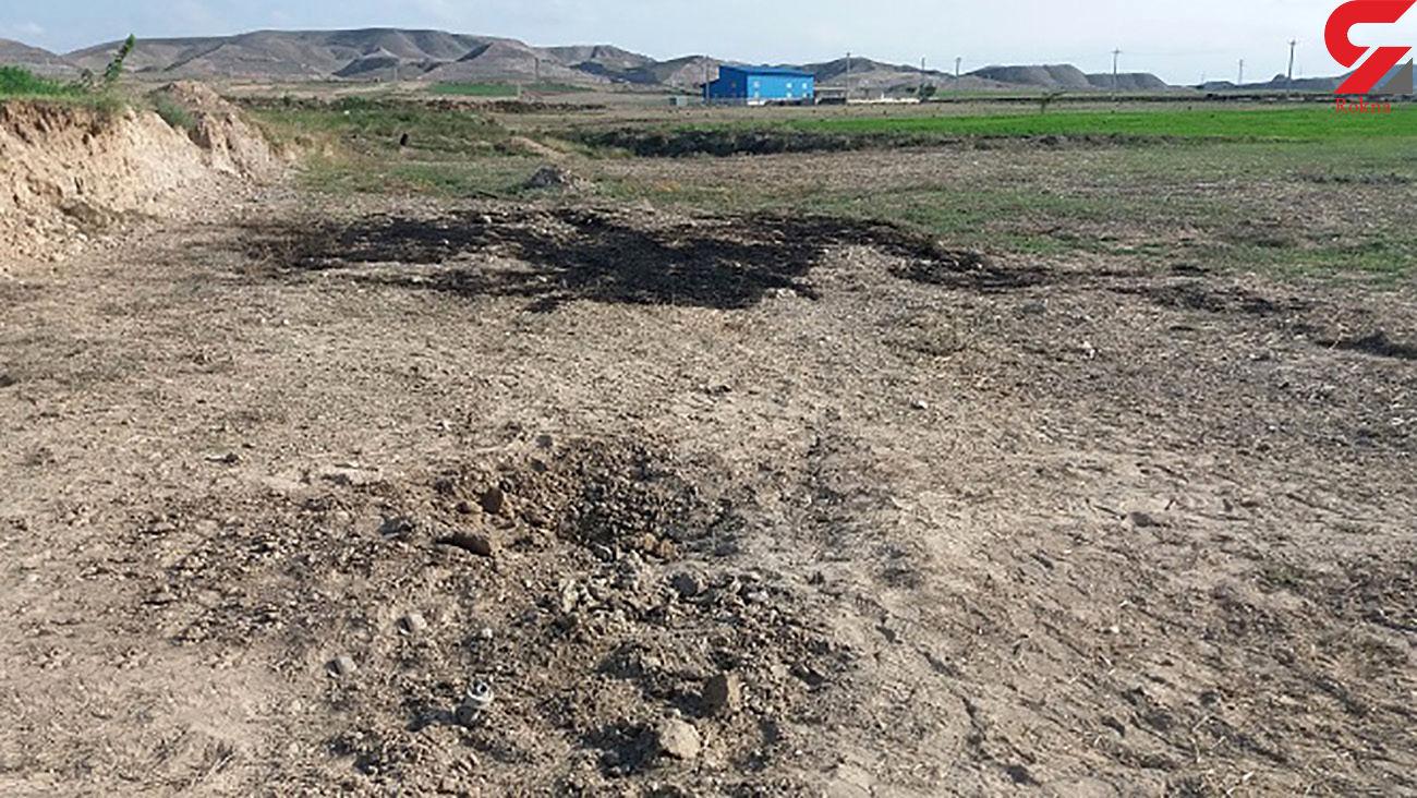 اصابت 2 راکت جنگ قره باغ به خاک ایران