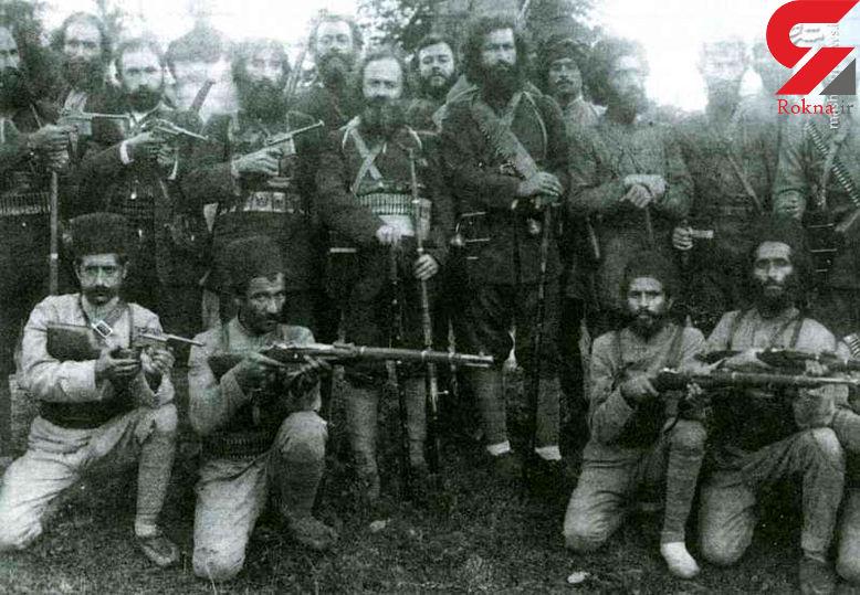 سردار جنگل و سربازانش +عکس