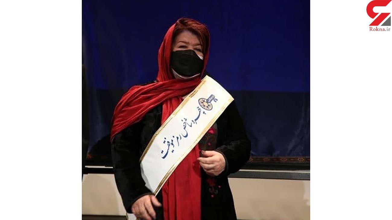 تمبر یادبود پوران درخشنده رونمایی شد