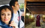 شیطنت های یکتا ناصر در کنار منوچهر هادی داخل خودرو شخصی + عکس
