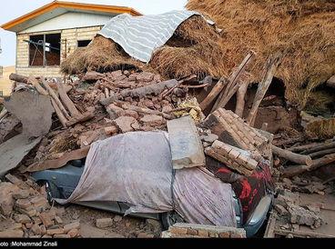 خسارات و خرابی های زلزله در میانه + تصاویر
