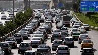 واژگونی تانکر در فیروزکوه علت ترافیک ورودی تهران