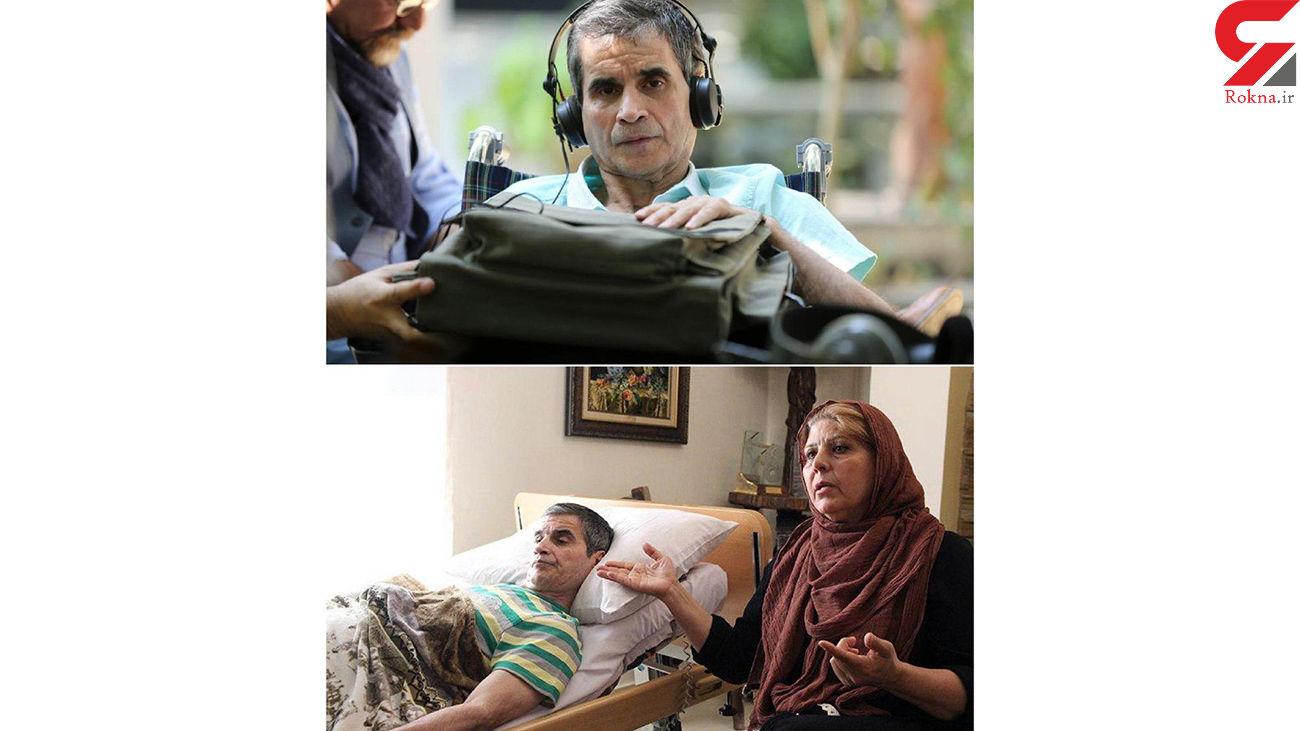 همسر اصغر شاهوردی: ۱۳ سال از زندگی ما سوخت